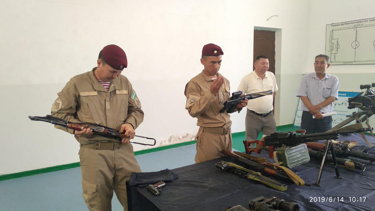 Practical workshop with the National Guard